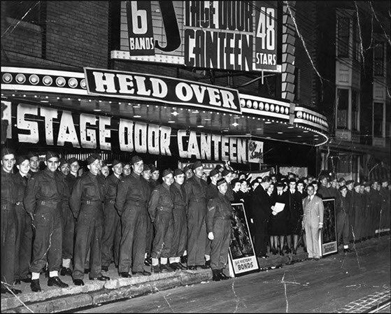 Stage Door Canteen 1943 movie in Canada