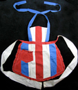 Stage Door Canteen hostess apron