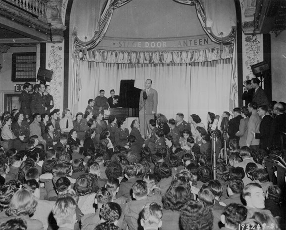 Bing Crosby at Stage Door Canteen London
