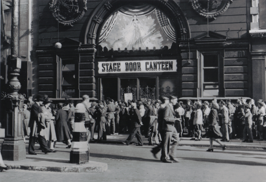 Entrance to Stage Door Canteen London
