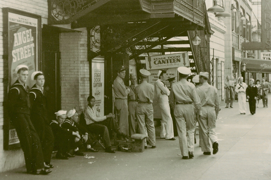 Stage Door Canteen New York